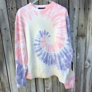 NWT Forever 21 Tie Dye Sweatshirt M